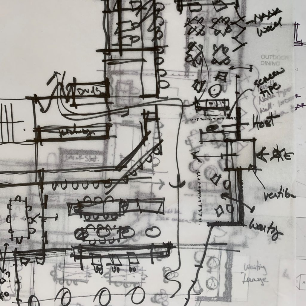 Architecture Planning Sketch